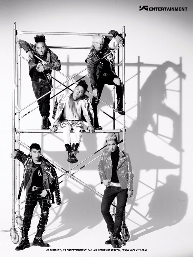 1位 BIGBANG (25票) 挖塞~~~果然是天團~!!!這壓倒性的票數!!!真的好強~!!!