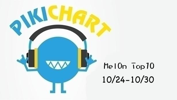 安妞哈誰優 ♡ 這裡是 PikiChart (*´∀`)~♥ 又到了每週更新 MelOn 排行榜的時間了(尖叫