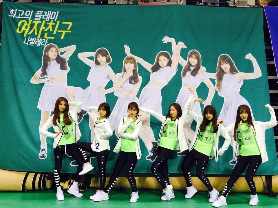 GFRIEND(2015年出道) 當時年紀 20歲-Sowon 19歲-Yerin 18歲-Eunha、Yuju 17歲-SinB、Umji