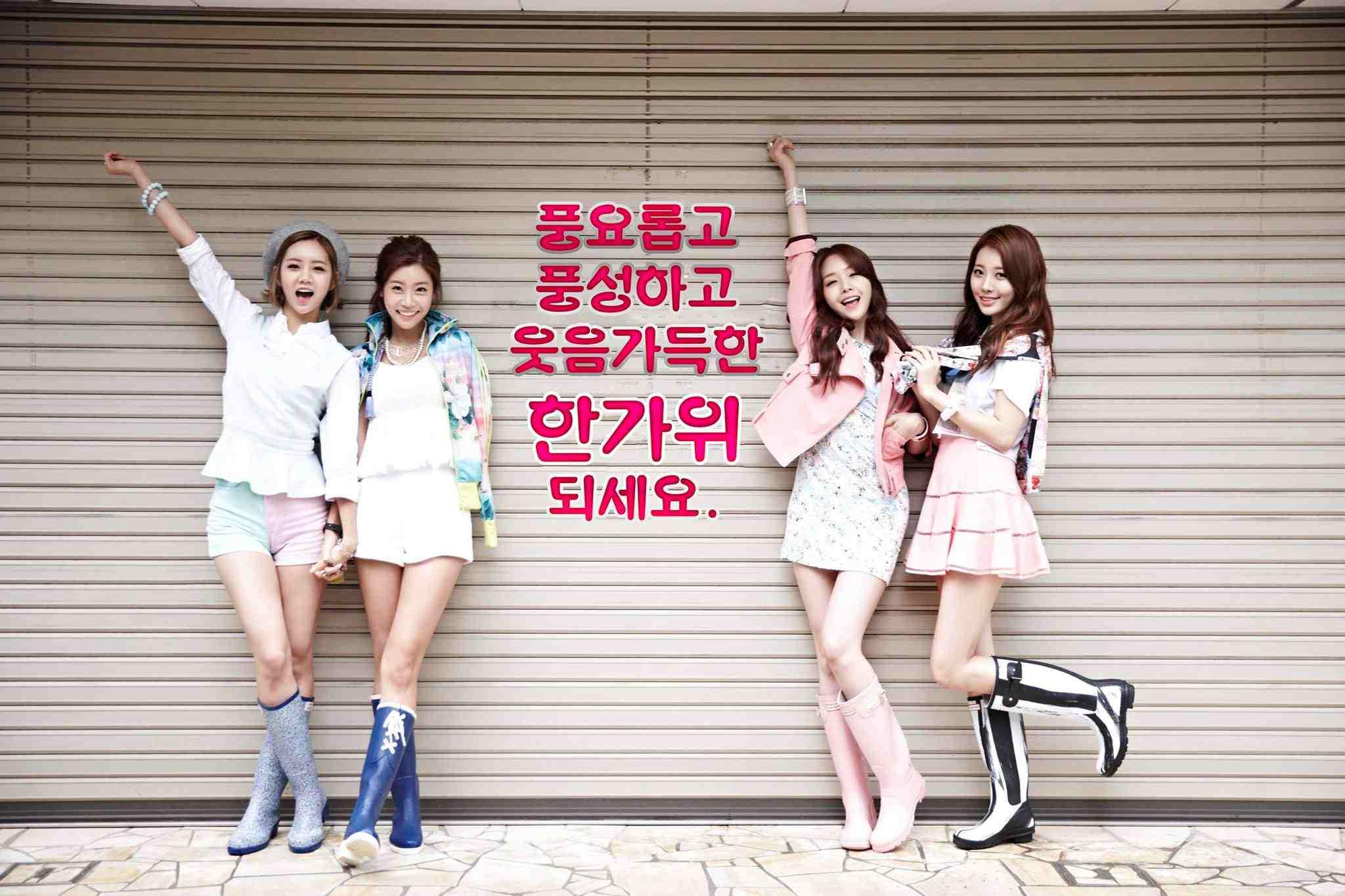 Girl's Day(2010年出道) 當時年紀 24歲-素珍 18歲-Yura 17歲-珉雅 16歲-惠利 (素珍算晚出道了耶~!但童顏沒關係XD)