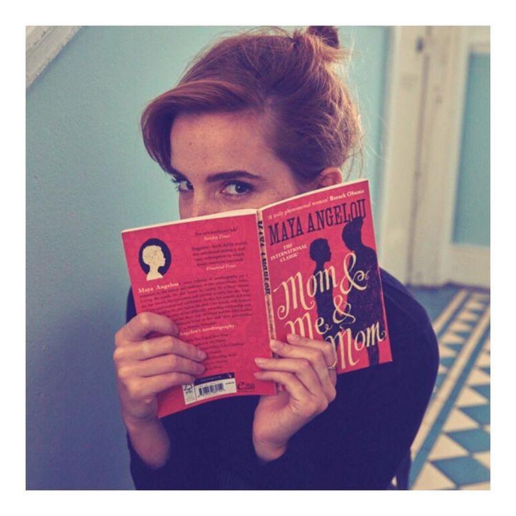 沒找到也沒關係,艾瑪華森也鼓勵大家加入讀書會的線上討論,可以跟她分享看書心得~