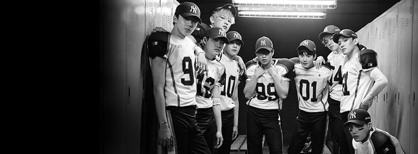 2位 EXO(46.5萬人/公演數20回)