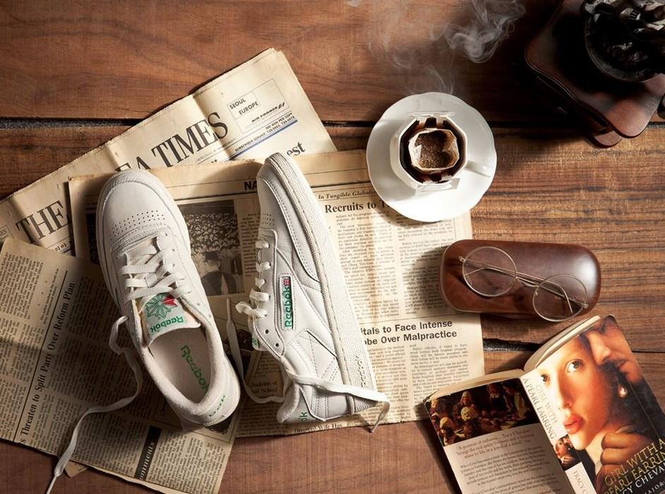濃濃復古感的設計 加上有厚度的鞋底讓身材比例更好 超級適合街拍啊XD
