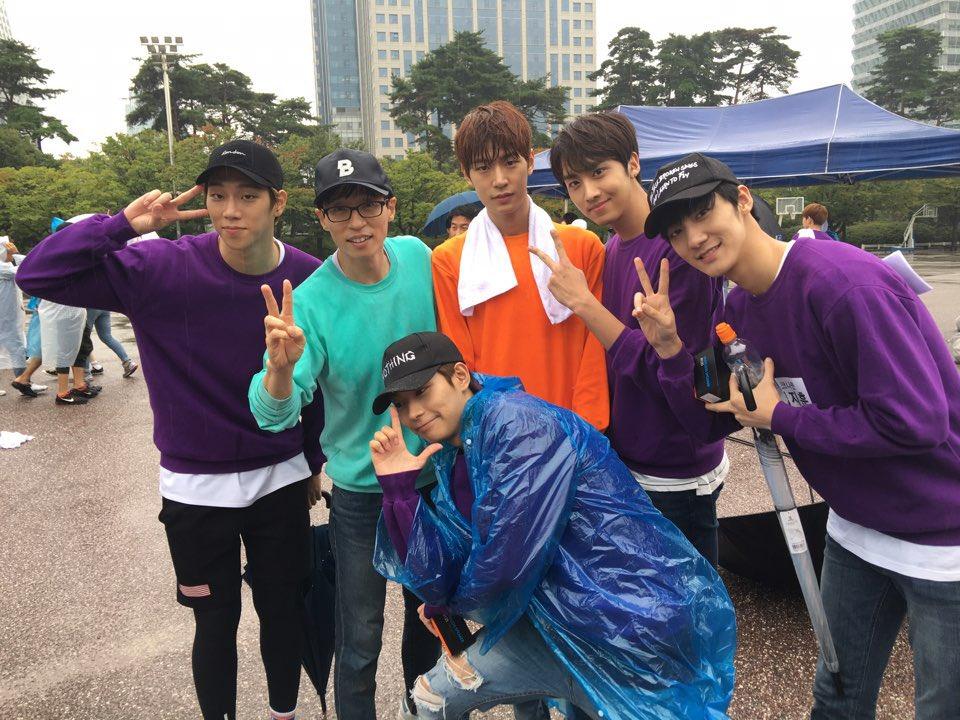 KNK是韓國YNB娛樂在今年推出的新男子團體 五個高大的男生一字排開是不是格外的養眼啊♡_♡