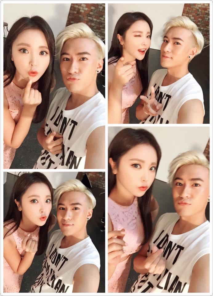 Kris 這回在韓國出道,也透露集訓過程中韓語是他覺得最困難的一點。和中文完全不同的發音方式也讓他承認有些頭痛。不過他不僅在韓國時盡量以全韓語宣傳,還和trot女王洪真英等歌手見面也似乎聊得很愉快,雖然語言有些障礙,但看得出來他很努力的在融入韓國樂壇中~