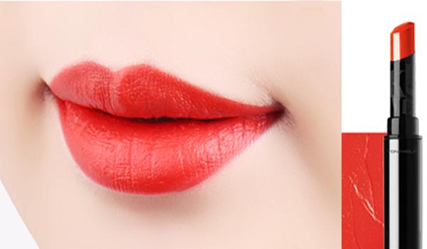 ☈ 皮膚白 X 番茄紅色 白皮膚能很好地消化所有的紅色, 但是其中明亮的番茄紅更能夠襯出皮膚的白皙。