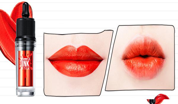 ☈ 膚色正常 X 正紅色 如果你的膚色既不是很白也不黑, 屬於普通東方人膚色的話, 那麼就選擇正紅色,最經典的紅色哦~