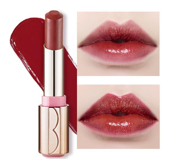 ☈ 膚色黑 X 紫紅色 如果你的皮膚較黑, 亮紅色會讓嘴唇看起來有腫腫的感覺, 紫紅色等深紅與你的膚色更相配哦!
