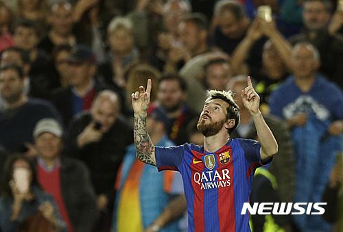 #3 Lionel Messi 81.5百萬美元 29歲 世界足球先生,也是全世界足球員中最高薪水的球員,與愛迪達、Gatorad(一個全球運動飲料大牌)等也是大手筆簽約代言。