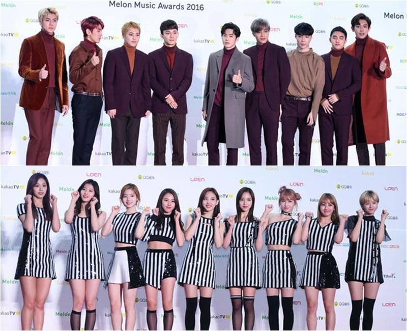 由韓國主要音源網站《Melon Music Awards》(MMA)在19日舉行,EXO繼《AAA》大賞成為最大贏家後,《MMA》繼續橫掃獎項,成為當天收下5冠王的最大贏家。