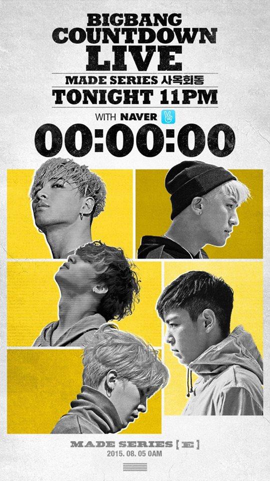 記得去年的這個時間大家也在呼喚著BIGBANG的全專輯《M.A.D.E》快出來,而當時聽到的回答也是BIGBANG正在投入製作中,想不到時間這麼快已經過了1年,BIGBANG終於確定要在12月12日,也就是今年過去之前推出BIGBANG的《M.A.D.E》專輯