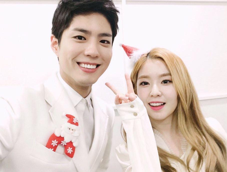 2.寶劍 X Irene 夢想是歌手出道,曾為云畫唱過OST寶劍好想聽他跟Irene的合唱情歌啊!