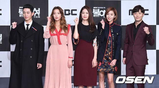 ✿TOP 5- MBC《不夜城》 話題佔有率:6.33%  ➔上升5個名次 ※主要在講述懷有貪念的人們,為了站在巔峰而展開激烈競爭的故事。