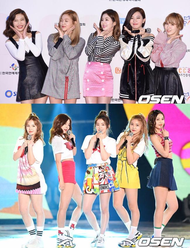 成員只有5名的Red Velvet出現在公共場合的隊形也幾乎不會變。 都是隊長Irene站中心位置 , 然後兩邊分別依次站Seulgi、Wendy和Yeri、Joy
