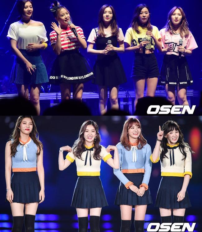不過少了Yeri的Red Velvet舞台真的會有點怪怪的……