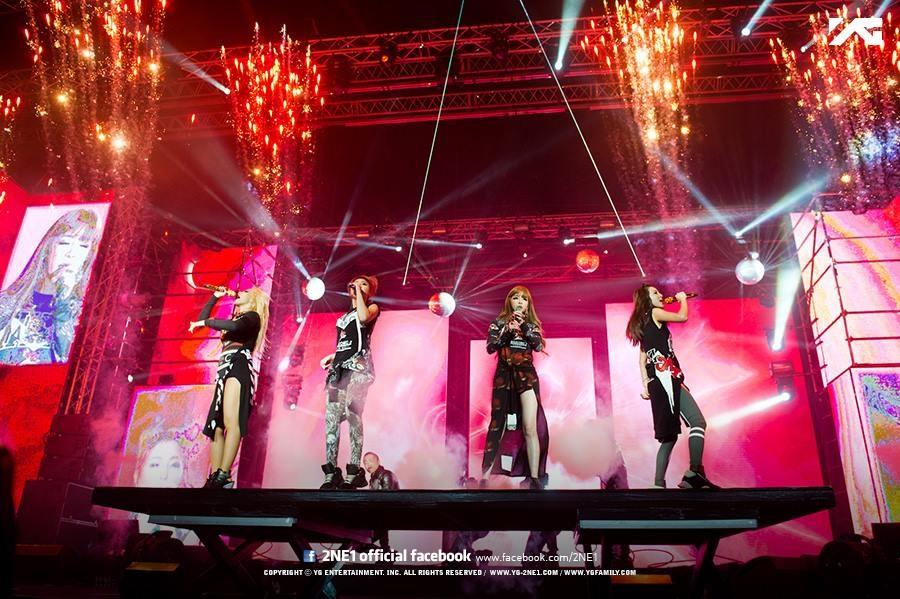 2NE1在2009年同時得了