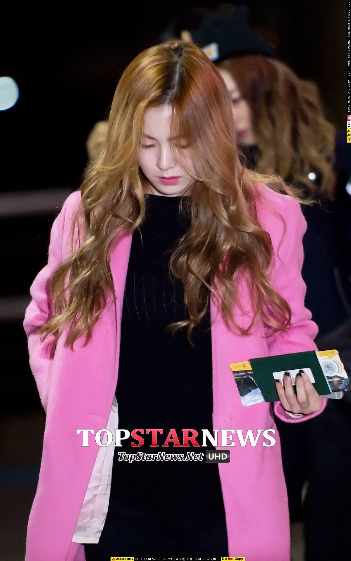 但粉絲們還是希望能看到 Irene的美麗正臉啊!