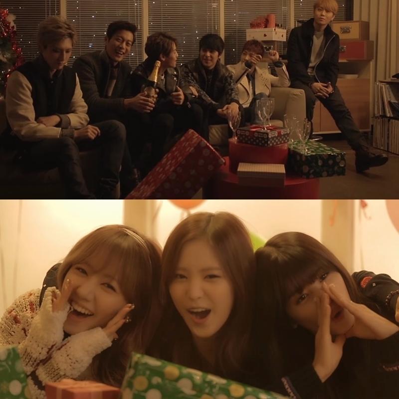 Cube Artist 《Christmas Song》 Cube在2013年推出的聖誕曲,好聽的歌曲加上暖色調的MV,但不知為何小編看完有股淡淡哀傷感....QQ
