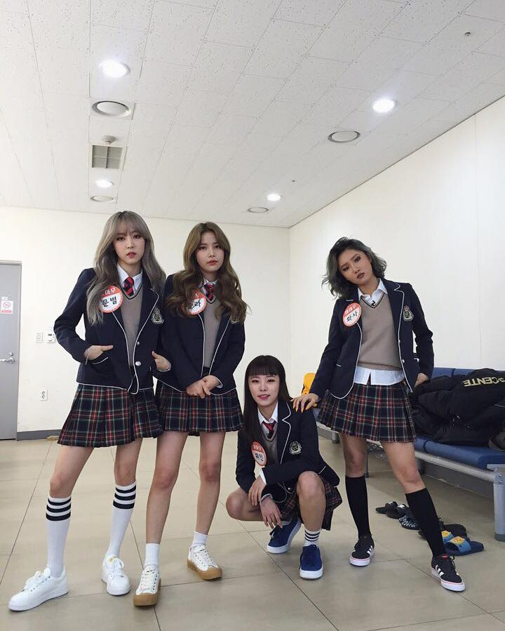 instagram 追蹤數 GFRIEND 54萬 MAMAMOO 25萬 Red Velvet 183萬 TWICE 160萬 IOI       33萬    BLACK PINK  181萬