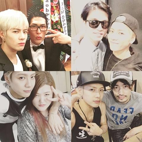 和之前一起出演綜藝節目《Roommate》的成員們都還有在聯絡,Jacksonck和成員們的互動都很有趣,因為是外國人的他還不太熟悉韓國文化會鬧出一些笑話,有人也有看過嗎?