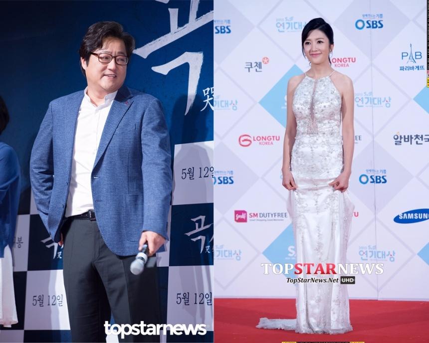 郭度沅❤張小妍 郭度沅跟張小妍因合作了電影《哭聲》結緣,兩人在電影中飾演夫妻,沒想到戲外從同事演變為情侶。