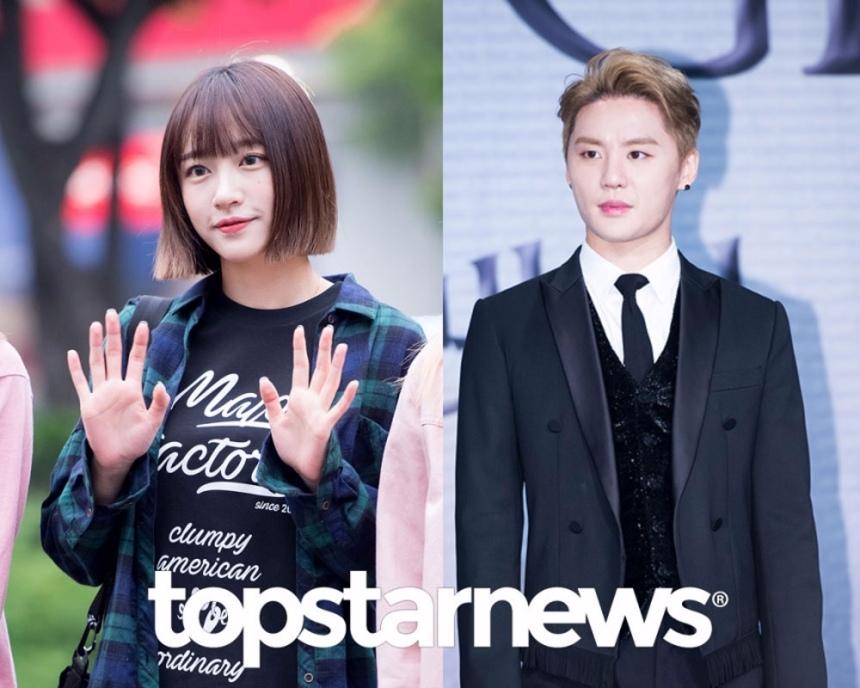 金俊秀 Hani 今年1月1號兩人戀情公開,在韓國演藝圈丟下震撼彈,沒想到9月Hani的經紀公司表示「因為兩人工作都很忙,自然而然地就分手了。」兩人交往不到一年就回到了前輩和後輩的關係。