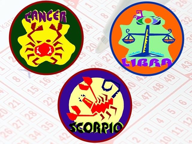 星座方面  天秤、巨蟹今年的運勢較好  最容易中億元大獎的則是天秤與天蠍兩個星座機率最高