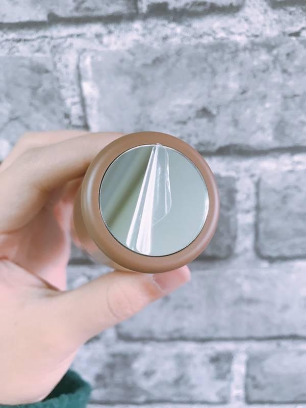 私下膠膜就可以正常使用鏡子囉!