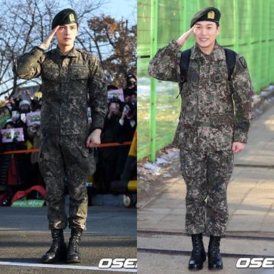 JYJ的金在中和Super Junior的晟敏於30日完成1年9個月服役退伍。 嗚嗚 終於回來了! 健康回來就好!