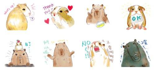 就像是鼠輩界的藤木與永澤(這是稱讚嗎?),豚哥扮演了比較木訥的角色,而古靈精怪的鼠弟則是擔任團體裡的表情擔當,有許多逗趣的表情演出!