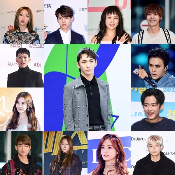 91LINE 成員有:南優鉉(Infinite)、Mir(MBLAQ)、鄭珍雲(2AM)、孫東雲(BEAST)、Min(miss A)、徐賢(少女時代)、Nana(After School)、李正信(C.N.Blue)、Key(SHINee)、 鄭妮可(前Kara成員)、崔珉豪(SHINee)、李在真(F.T.Island)、昭宥(SISTAR) 真的是超級大團的!!不得不佩服Key的號召力啊!