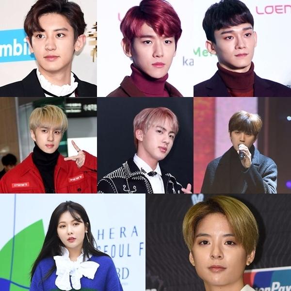 92LINE 共有三組 第一組:EXO的Chen、伯賢、燦烈 第二組:Ken(VIXX)、Jin(防彈少年團)、燦多(B1A4) 第三組:泫雅、Amber(f(x)) 雖然他們現在仍各自完各自的,但希望有一天能看見他們玩在一起的畫面啊~