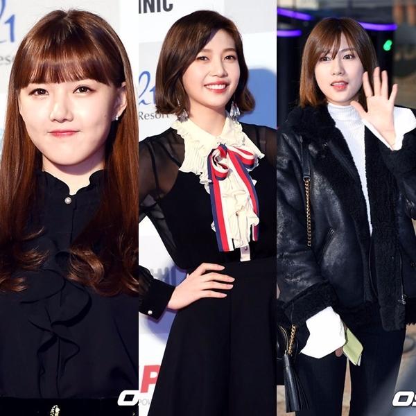 96LINE 成員有:Yerin(GFRIEND)、Joy(Red Velvet)、夏榮(Apink) 三人都是從首爾公演藝術高中畢業的,除了畢業影片可以看到三人的好交情,最近在許多飯拍也可以看到Yerin和Joy玩在一起的畫面。