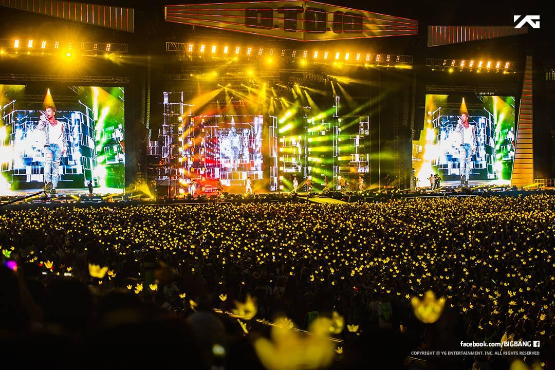 BIGBANG 幾乎不用多說,真正在跑「世界巡迴」的團體,BIGBANG不論在北美還是南美,只要開演唱會就會Sold out,而且YG家的長工哥哥雖然去年在日本辦過超多場的演唱會 ,但還是照樣吸引 V.I.P前往朝聖,在日本的人氣當然是不用說了