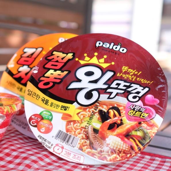 #八道王拉麵 這款對台灣人來說似乎比較陌生,就連飽兒我也沒試過,不知道有吃過的人可以跟大家分享一下嗎?