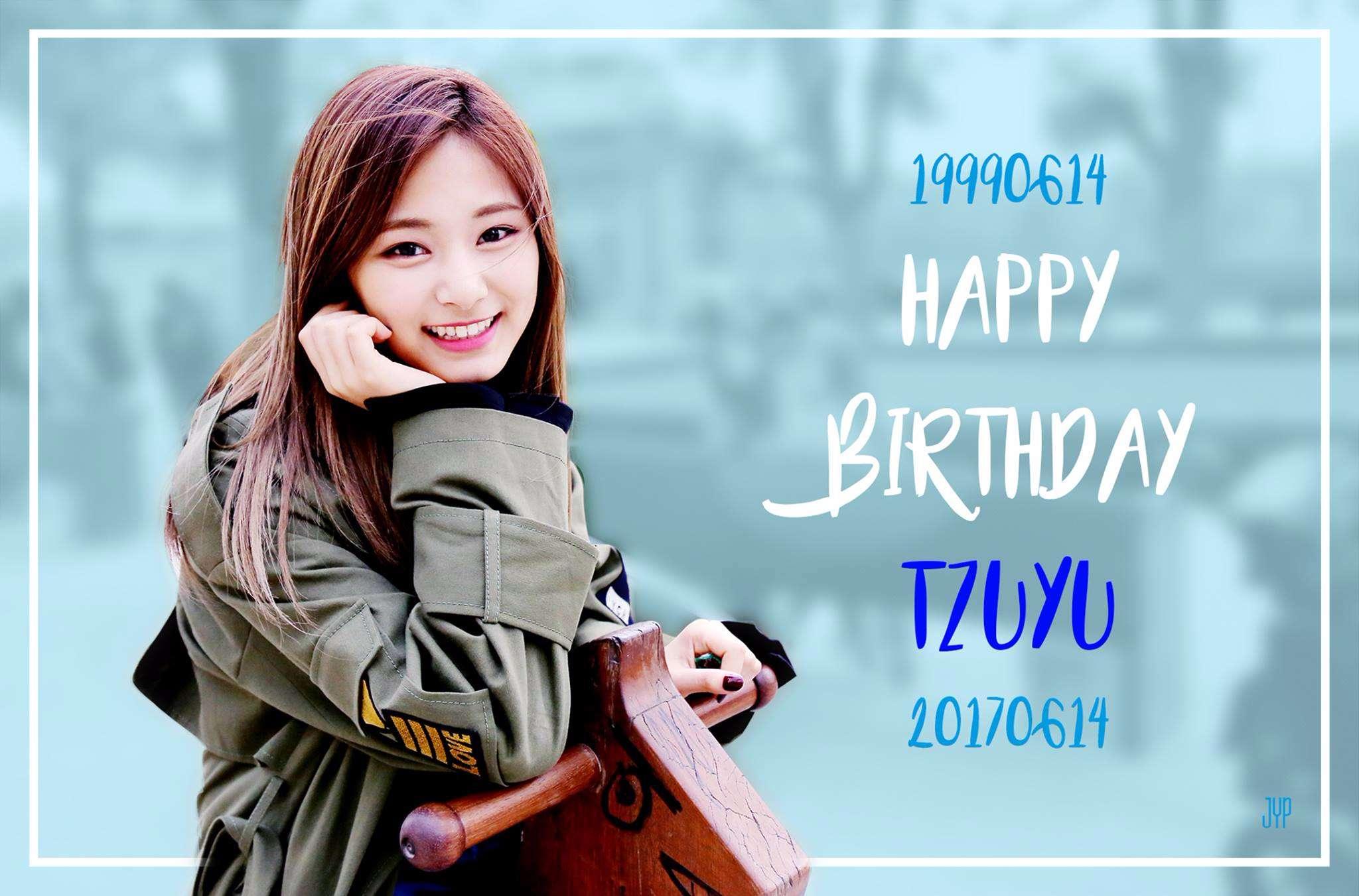 粉絲們都知道6/14是子瑜的生日嗎...? JYP也在官方臉書貼出子瑜的生日照,還有來自世界各地ONCE的祝福,粉絲們除了在韓國地鐵也有刊登廣告,在紐約時代廣場更是有粉絲刊登生日祝福@@