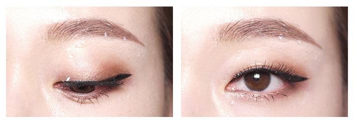 而且刷頭直徑只有2.5mm,能讓隱藏在內部的細微睫毛更好上妝,使眼妝更自然。