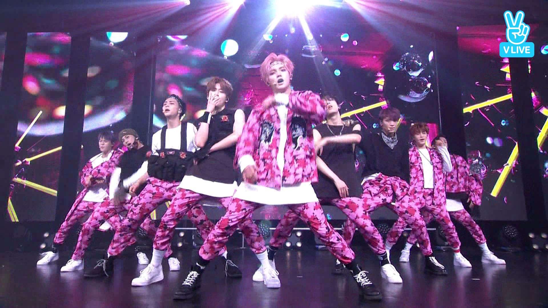 就是貌似和前幾天剛回歸的SM男團NCT127打歌服褲子同款啊!!!