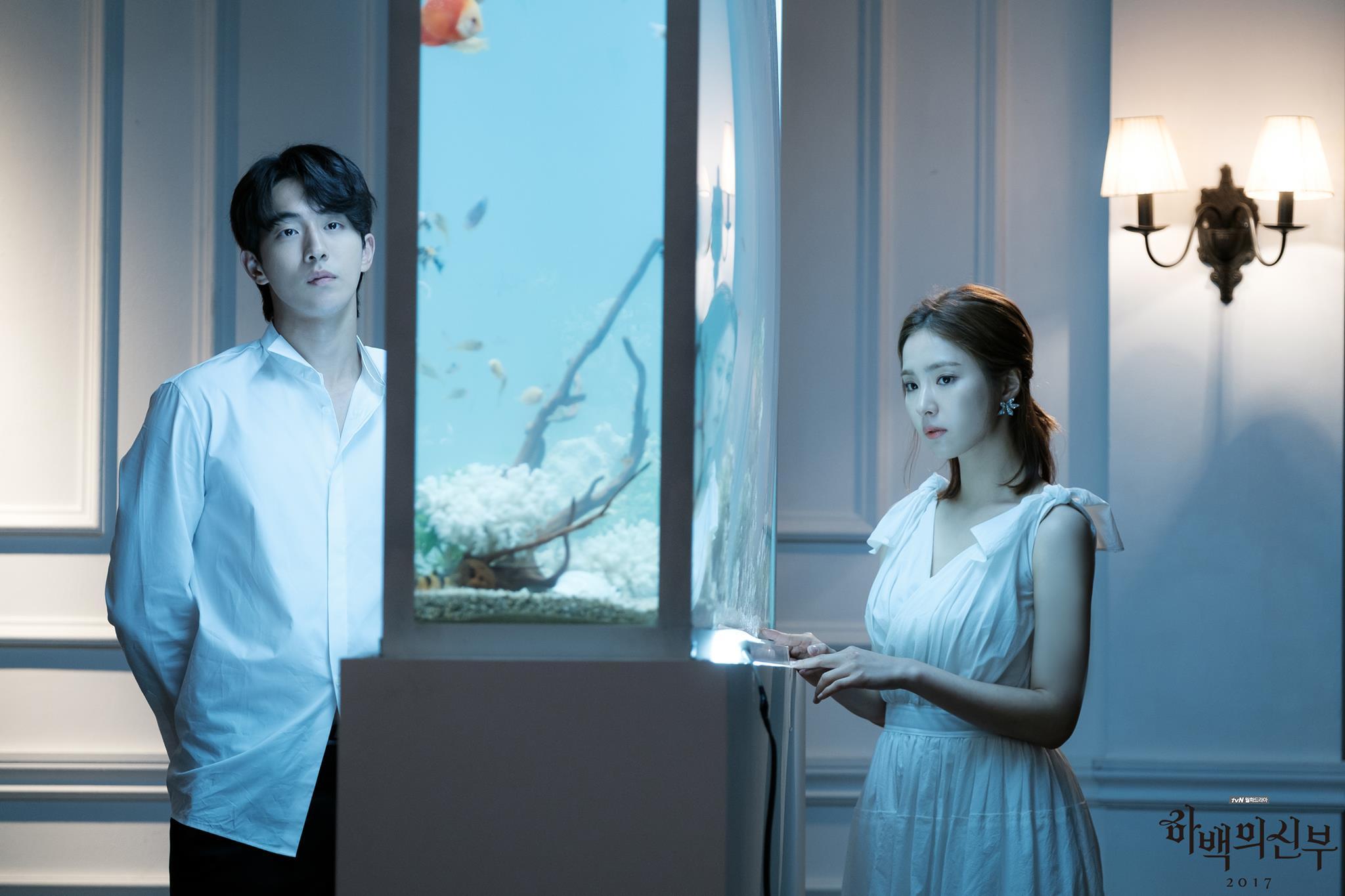 喜歡看韓劇的粉絲們應該都知道將在7月播出的《河伯的新娘》,劇組也釋出了許多劇照和預告,但上次釋出的預告南柱赫長髮古裝造型讓許多粉絲直呼不能接受呀....