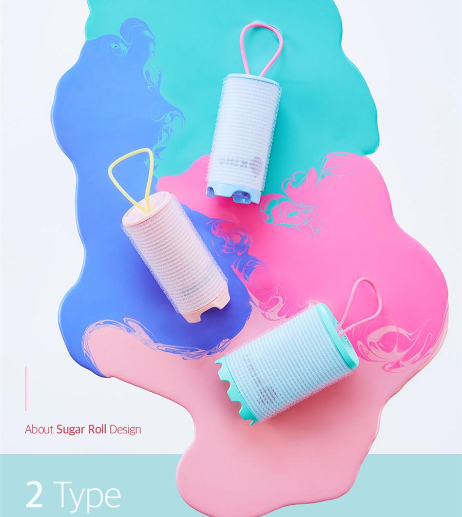 這款叫做「Take Out Sugar Roll」的充電瀏海捲髮器由Unix推出, 女孩們應該都知道這個品牌的卷髮棒跟充電梳很有名吧?
