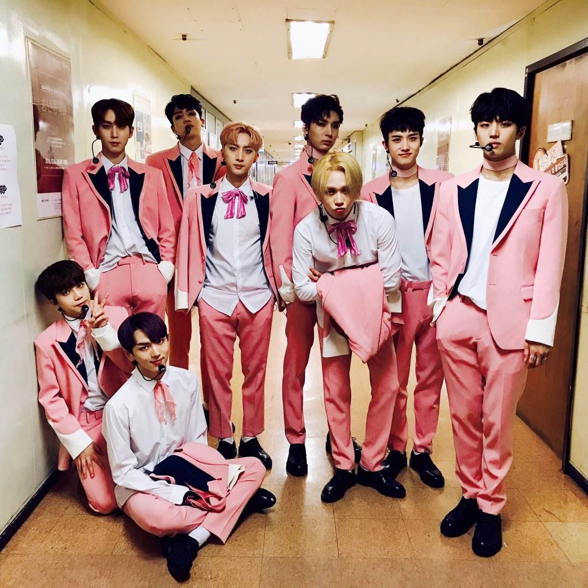 PENTAGON和粉紅色這麼適合合理嗎!!還沒有聽過新歌的粉絲們記得快手刀去點開啊~