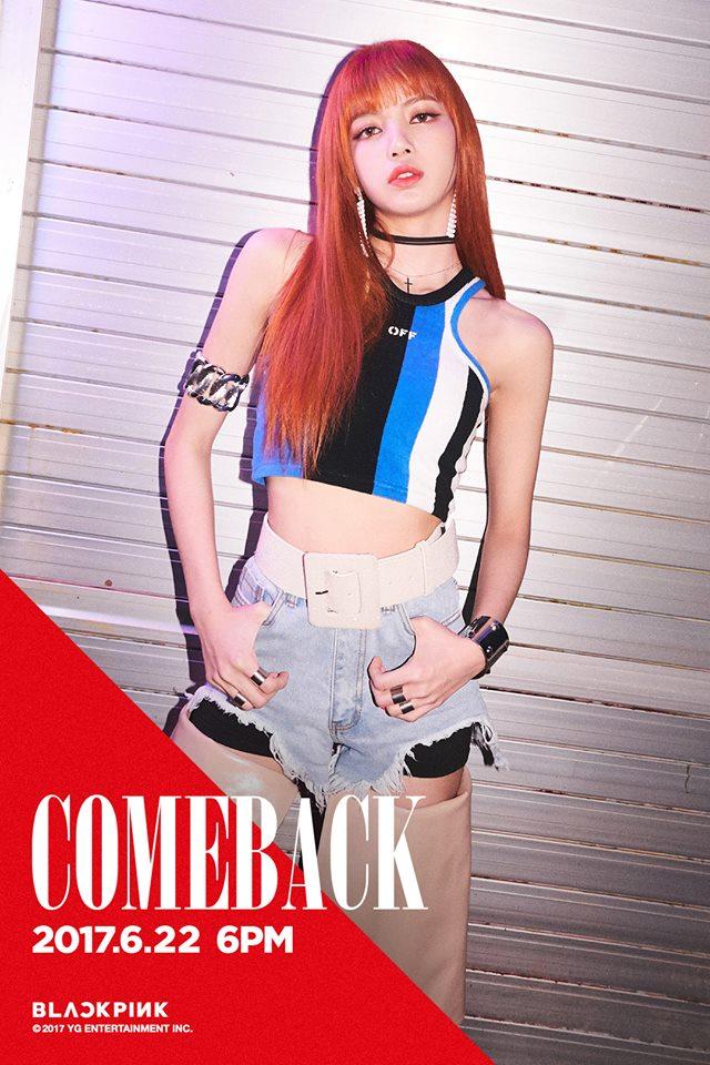 因為忙內Lisa表示:「真的很想穿穿看韓國的制服」,所以BLACKPINK決定完成Lisa的願望,這次的回歸造型就選擇了校服。 看到新聞的網友紛紛表示:「Lisa想做什麼都做!」、「Lisa真的超可愛啊!」