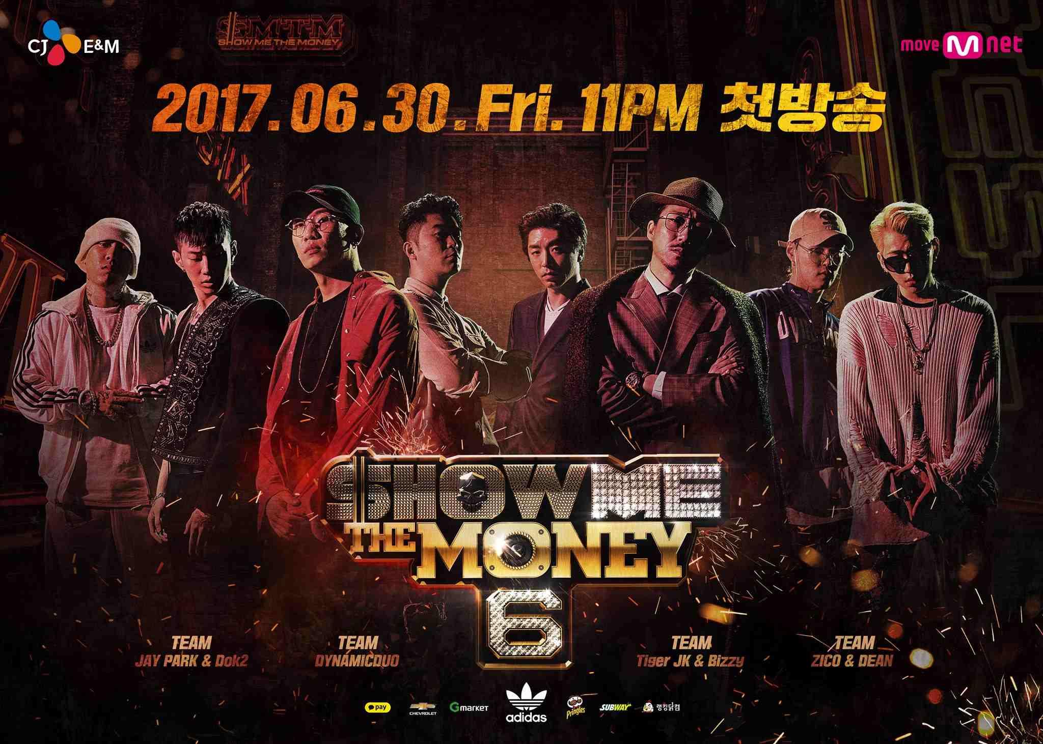 平常喜歡聽饒舌音樂的粉絲們應該都有看過韓國饒舌節目《Show Me The Money》,就算沒看過應該也有聽過吧,最近節目也將播出第6季~