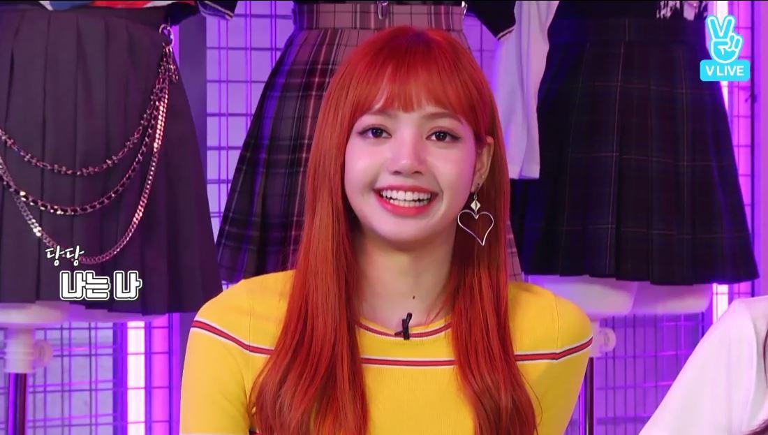 Lisa立刻用一臉「油膩&理所當然」的表情,大聲的說「我選..我XDDD」