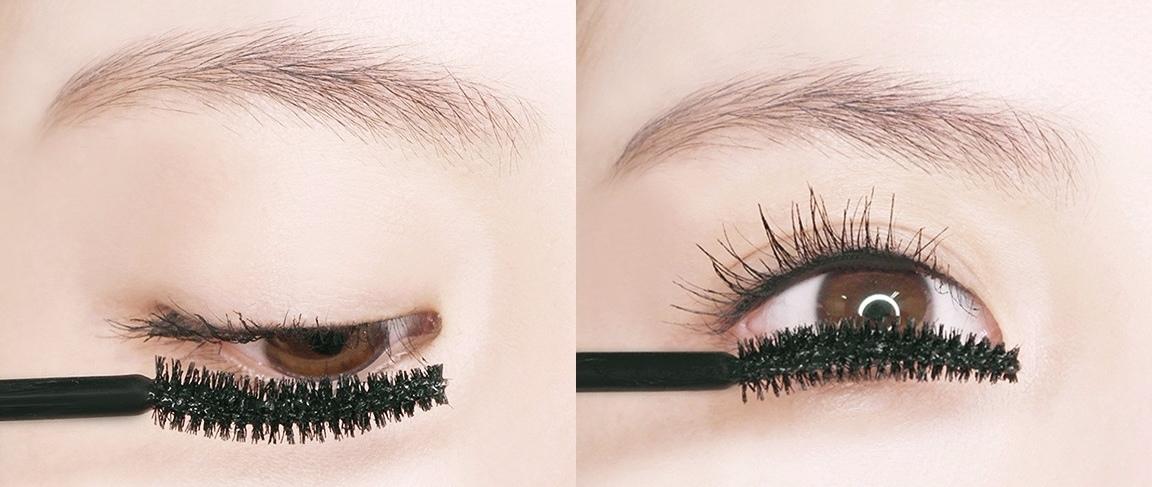 強調一刷就有像是假睫毛一般的效果,喜歡比較有妝感的女孩可以考慮這款~