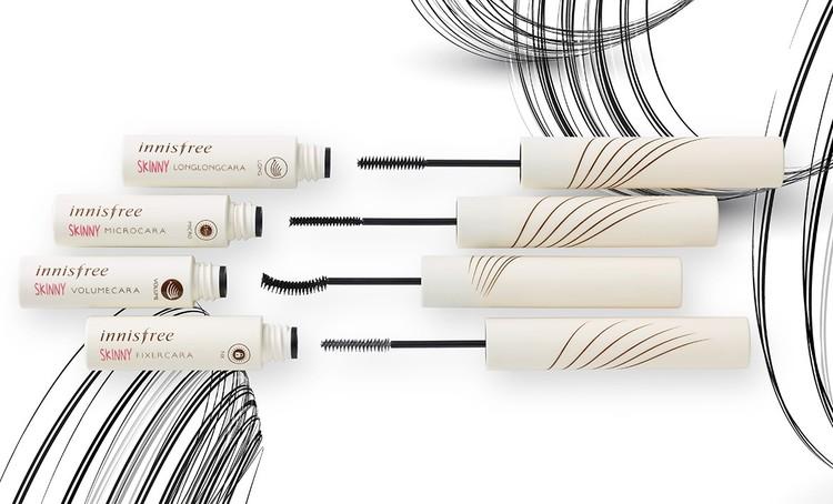 首先就是innisfree纖巧精細睫毛膏系列,纖長、捲翹通通有,甚至還有黑色、咖啡色的選項,超級貼心~