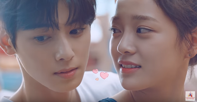 韓國網友也說男女主角很不配,應該要找ASTRO的成員車銀優來演,兩人一起合拍的廣告也被網友大讚兩人的外表很搭,很適合一起演《學校2017》,這樣的組合才是校園青春劇呀~