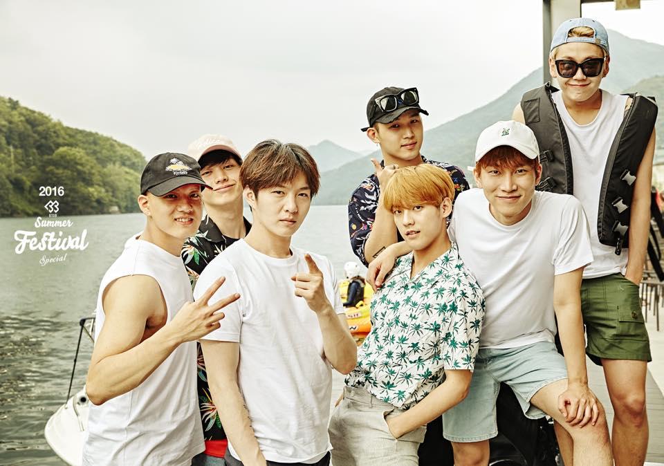 粉絲們可以去YOUTUBE搜《Music Bank -BTOB》一定要去看影片保證你笑到肚子痛XD