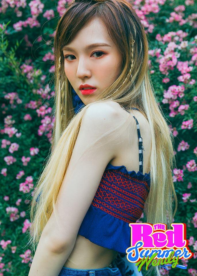 讓小編私心一下~Red Velvet成員Wendy的回歸照真的是美哭小編~ 孫勝完真的是美出新高度啊~