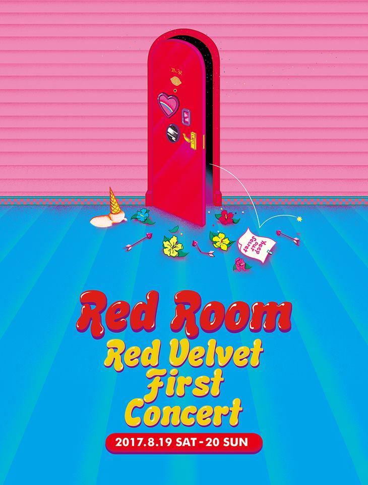而官方也同時宣布了RedVelvet首場演唱會即將在8/19、8/20連開兩天,完全就是激動不已啊!!!!